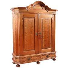 armoire furniture sale german baroque armoire in kiefer pine with arched bonnet circa