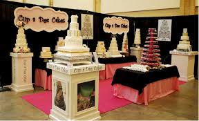 bridal shows cup a cakes bridal show booths for beginners