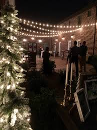 christmas lights in mckinney tx cocktails and dancing on the courtyard under the string lights