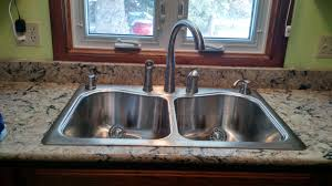 installing kitchen sink faucet kitchen sink and faucet install drucks work pinterest