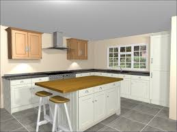 l shaped kitchen with island bench seats on both ends of island