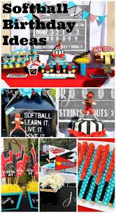 best 25 softball birthday parties ideas only on pinterest