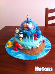 octonauts cake topper octonauts cake huggies birthday cake gallery huggies