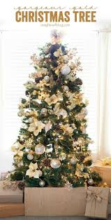 Black And Gold Christmas Tree Decorations 1220 Best Holiday Decor Diy Images On Pinterest Holiday Ideas