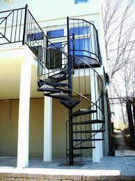 decorative iron spiral staircase u2014 new decoration popular iron