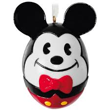 easter mickey mouse mickey mouse easter egg porcelain ornament keepsake ornaments
