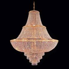 Crystal And Gold Chandelier Large Chandeliers Large Crystal Chandeliers