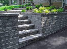 impressive concrete blocks for garden walls 17 best ideas about