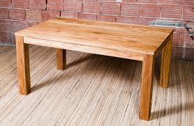 table bois cuisine table cuisine en bois madame ki