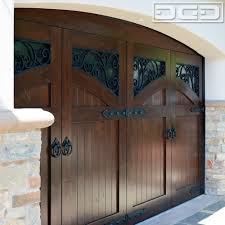 newport coast mediterranean style garage doors with decorative