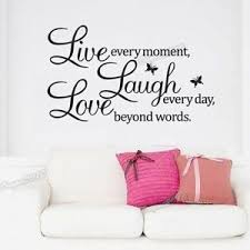 bold ideas live laugh wall decor in conjunction with home ebay