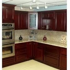 Dark Cherry Kitchen Cabinets Cherry Cabinets Foter