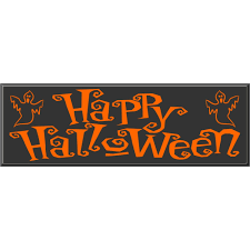 picture of happy halloween happy halloween sign wood signs custom wood signs