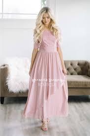 modest bridesmaid dresses mauve lace ruffle modest bridesmaids dresses modest clothes
