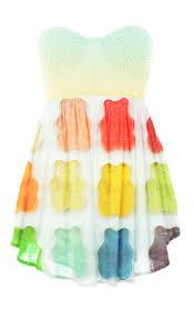 gummy dress yes i would wear bears