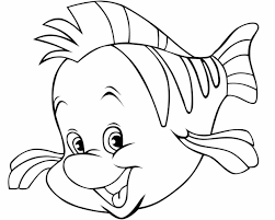 fish goldfish coloring pages printable