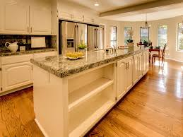 kitchen with complex granite u0026 breakfast nook in san jose ca