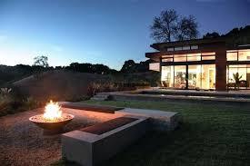 Modern Firepits Modern Firepit Modern Landscape By Associates Modern Pit