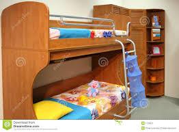 chambre a coucher des enfants chambre à coucher d enfant image stock image du bleu 1136921
