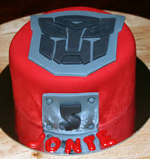 optimus prime cakes optimus prime cake cupcakes and cookies