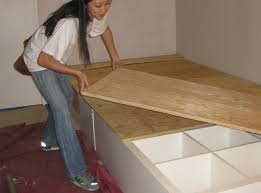 Easy To Build Platform Bed With Storage by 8 Diy Storage Beds To Add Extra Space And Organization To Your Home
