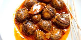 comment cuisiner des escargots escargots à la sauce piquante facile et pas cher recette sur