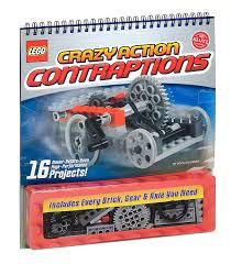 amazon com klutz lego crazy action contraptions craft kit doug