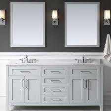 Bathroom Vanity 72 Double Sink Modern Double Bathroom Vanities Allmodern