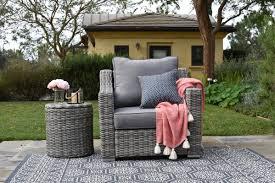 elle decor vallauris armchair with cushion u0026 reviews wayfair
