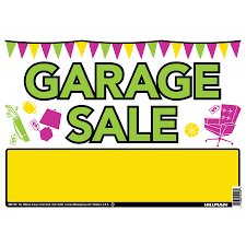 Organizing A Garage Sale - shop hillman sign center 10 in x 14 in garage sale sign at lowes com