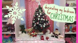 decorating my bedroom for christmas youtube