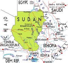africa map khartoum khartoum map tourist attractions toursmaps