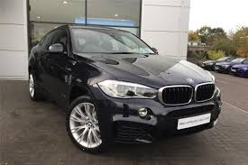 cars bmw x6 used 2017 bmw x6 xdrive30d m sport 5dr step auto for sale in essex