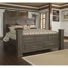 ashley storage bed ashley 4 poster bed