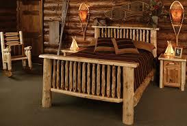 log home decor marvelous decoration log bedroom furniture bold inspiration bed