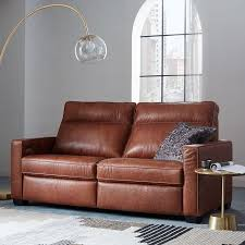 Reclining Sofas Leather Henry Leather Power Recliner Sofa 77 West Elm