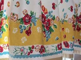 Vintage Style Kitchen Curtains by Retro 50s Kitchen Curtains Vintage Kitchen Curtains