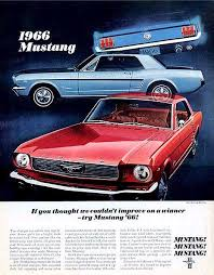 ford mustang ad directory index mustang 1966