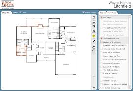 online floor planning architecture waybe homes interaction floor plans nice builder best