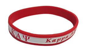 red silicone bracelet images Kappa alpha psi silicone bracelet sale 4 95 greek gear gif