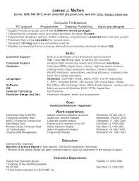 computer tech resume hitecauto us
