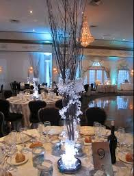 items similar to iced branch centerpieces on etsy