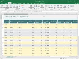 How To Use A Excel Spreadsheet Xls File Extension What Is An Xls File And How Do I Open It