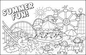 free printable summer coloring pages snapsite me