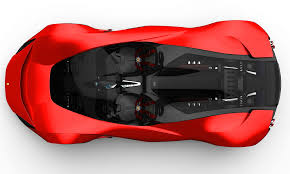 maserati red 2017 2017 maserati mc12 possibly based on laferrari aliante spyder by