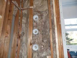 shower plumbing rough in valve installation shower rough in valve