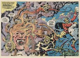 jack kirby quote monster brains jack kirby double page spreads from