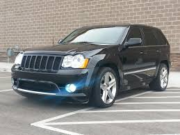 black jeep 2008 black jeep cherokee srt8 magnuson supercharged pictures mods