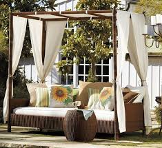 35 romantic outdoor canopy beds for summer inspiration home