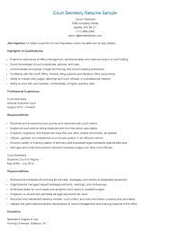 Legal Secretary Resume Examples by 94 Professional Sample Legal Secretary Resume 100 Medical